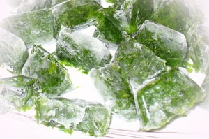Лед из петрушки