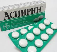 таблетки аспирина от прыщей