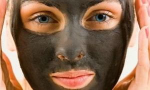 Маска для лица из активированного угля и желатина