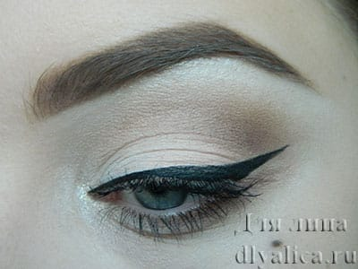 Пин-ап макияж глаз