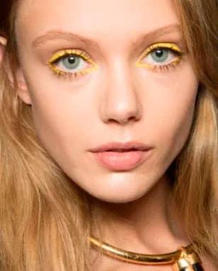 Макияж для серо-голубых глаз