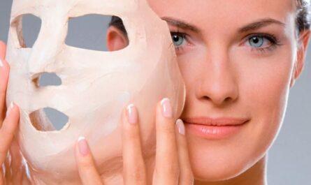 Гипсовая маска для лица
