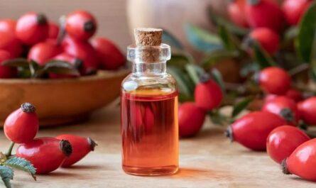 Использование масла шиповника для лица