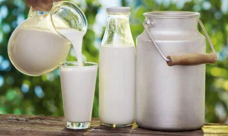 Эффективные маски для лица из молока