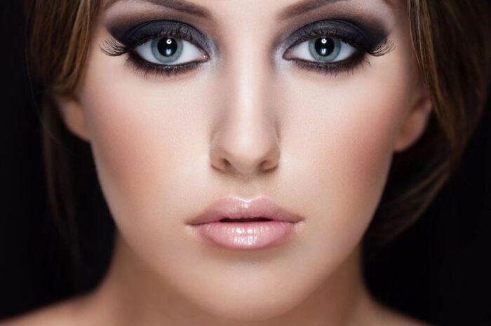 Как красиво сделать макияж черными тенями: мастер-класс, фото, видео