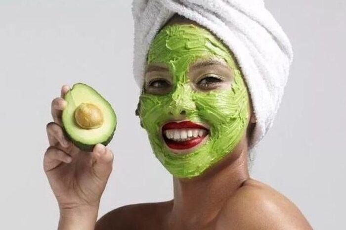 Универсальная маска для лица и шеи из авокадо