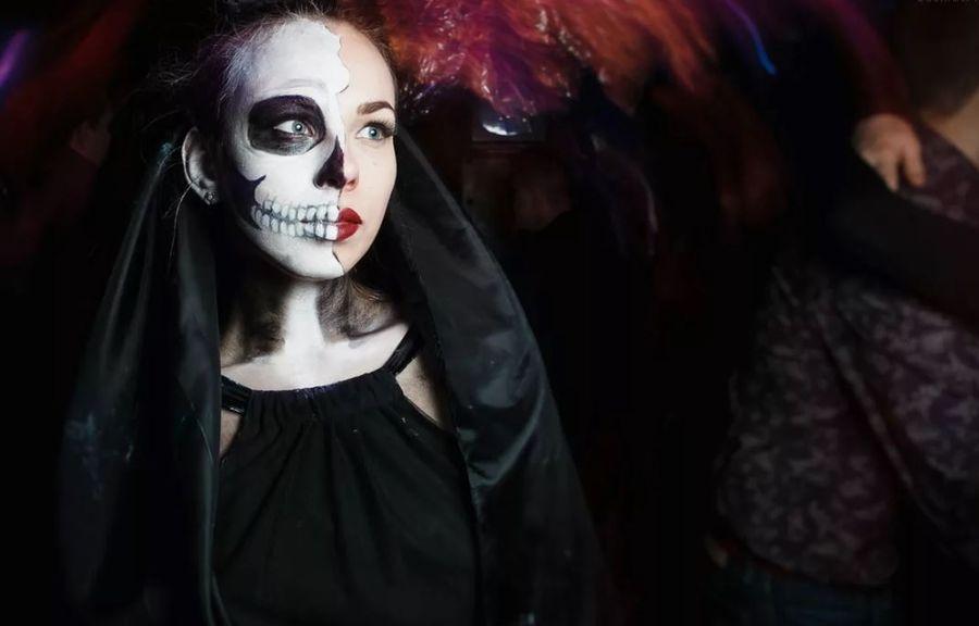 Образ на Хэллоуин невеста