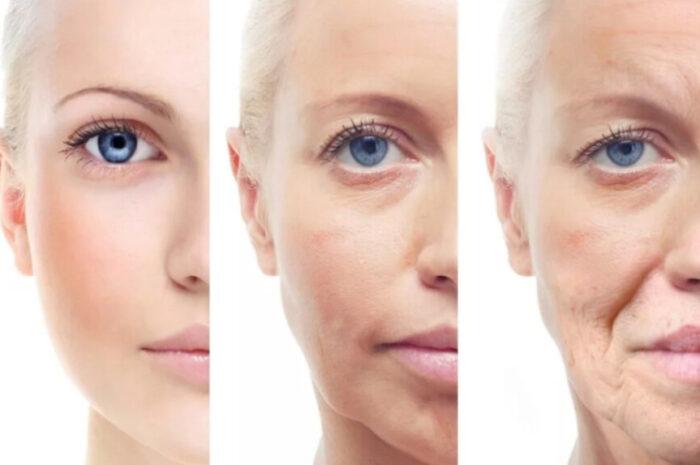 Изменение кожи лица с возрастом у женщин