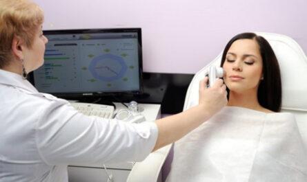 Диагностика кожи лица