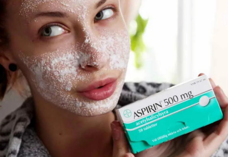 Маска для лица с аспирином фото
