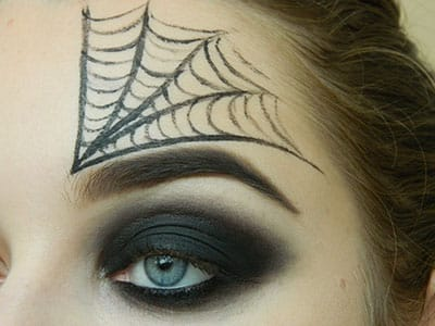 Нарисованная паутина