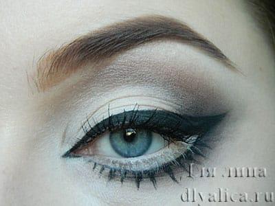 Аниме-макияж глаз