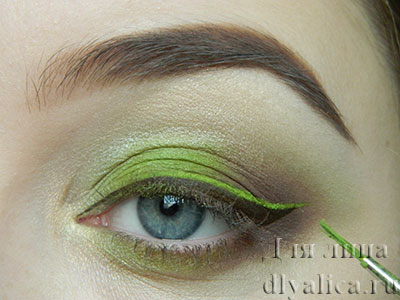 Рисуем зеленую стрелку