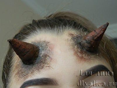 Рожки для образа дьявола, чертика, дьяволицы на хэллоуин